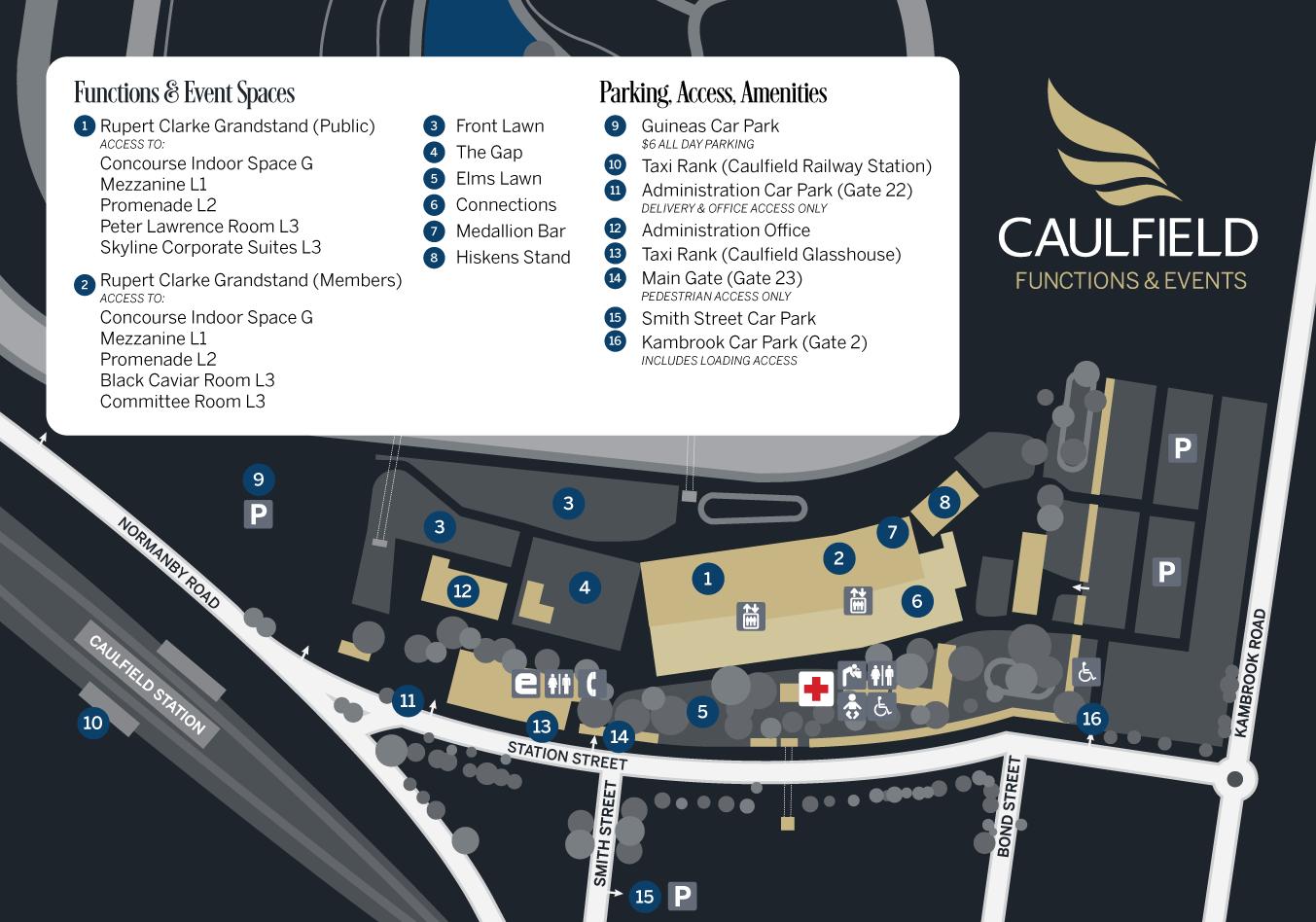 Gate 23 Caulfield Racecourse